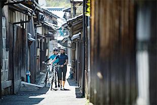 ポタリング(自転車散歩)のイメージ